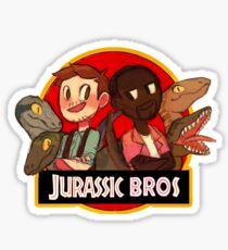 Jurassic Bros Sticker