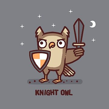 Knight owl by Randyotter
