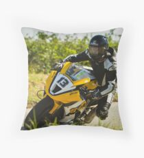 Adrian Archibald at the Skerries 100 Throw Pillow