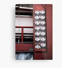 Valley Alley Face Metal Print