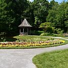 Gazebo in the gardens by msegall
