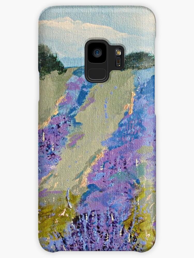 Fields of Lavender by marymirabalart
