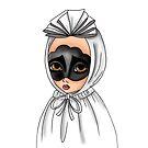 Maschera a lenzolu di Aidomaggiore - Sardinian Mask Carnival by Lu1nil