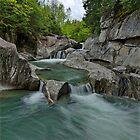Warren Falls - Spring by Stephen Beattie