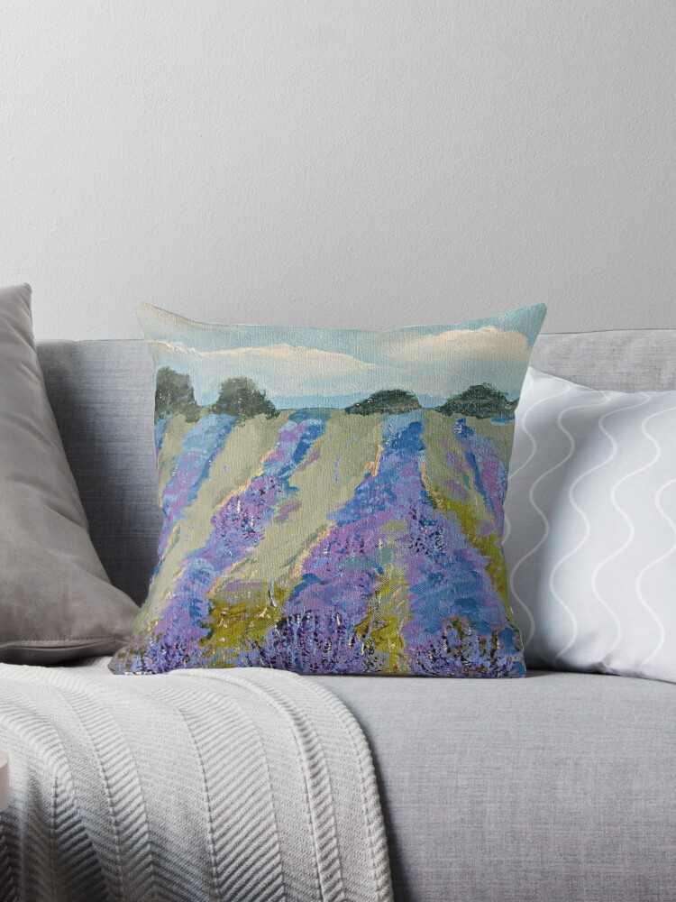 Fields of Lavender by marymirabalart