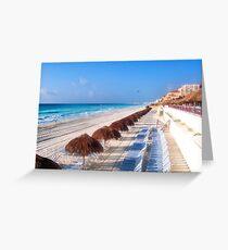 Cancun Morning Greeting Card