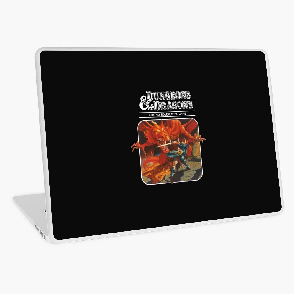Dungeons & Dragons Laptop Skin