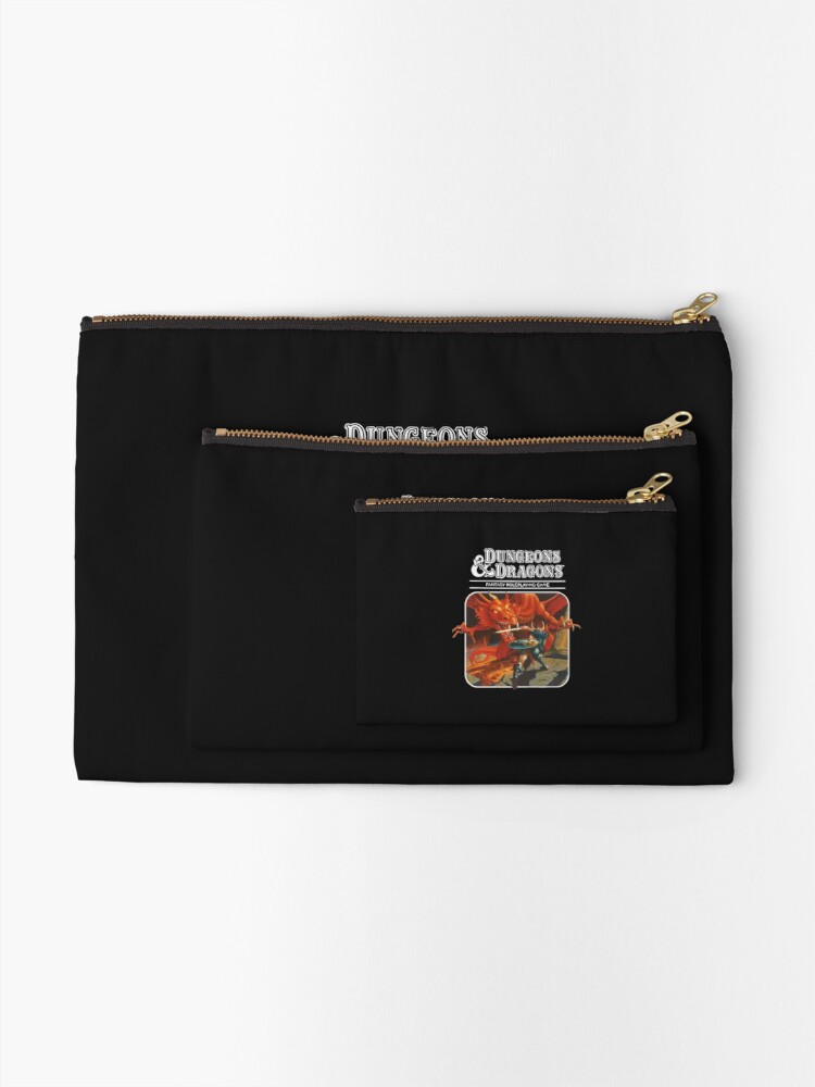 Alternate view of Dungeons & Dragons Zipper Pouch