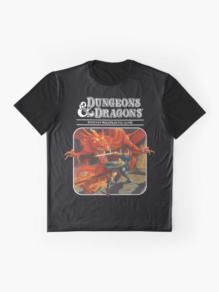 Alternate view of Dungeons & Dragons Graphic T-Shirt