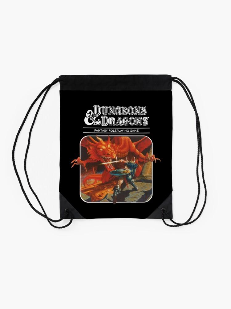 Alternate view of Dungeons & Dragons Drawstring Bag
