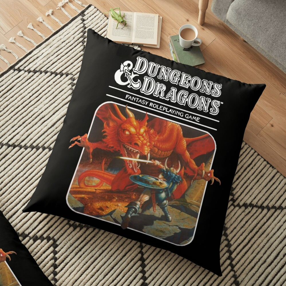 Dungeons & Dragons Floor Pillow