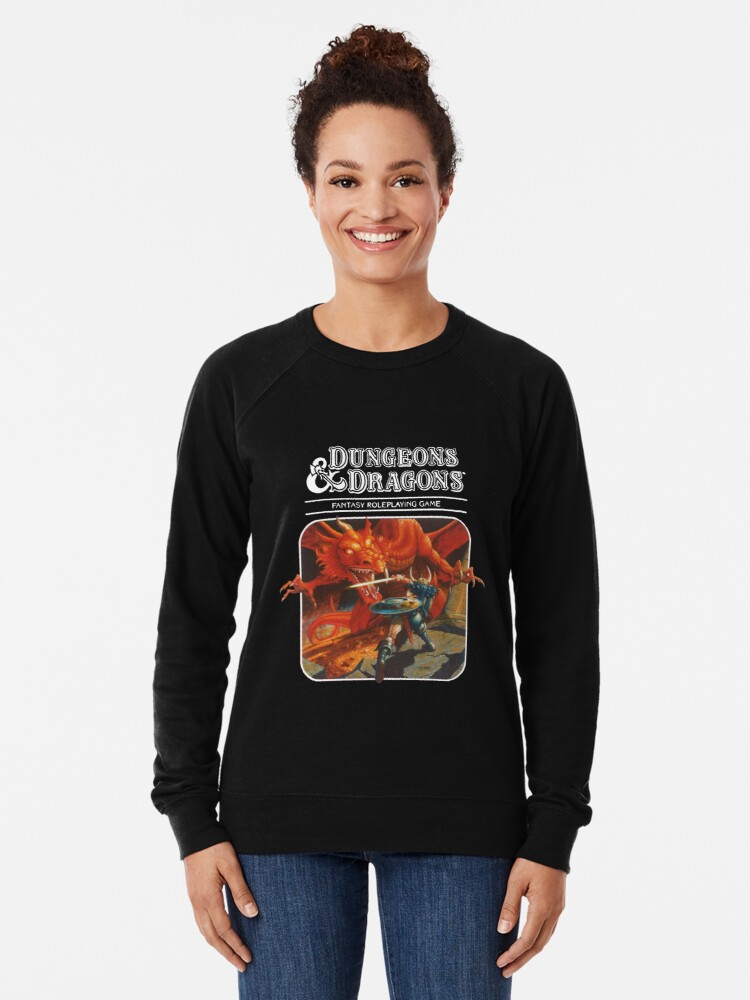 Alternate view of Dungeons & Dragons Lightweight Sweatshirt