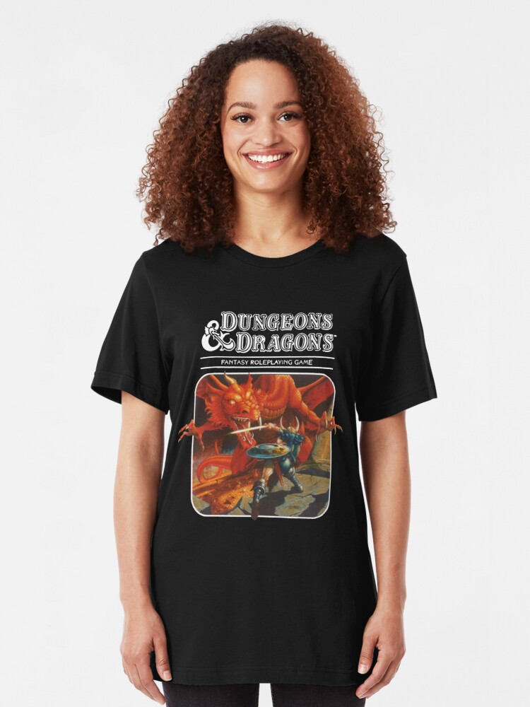 Alternate view of Dungeons & Dragons Slim Fit T-Shirt