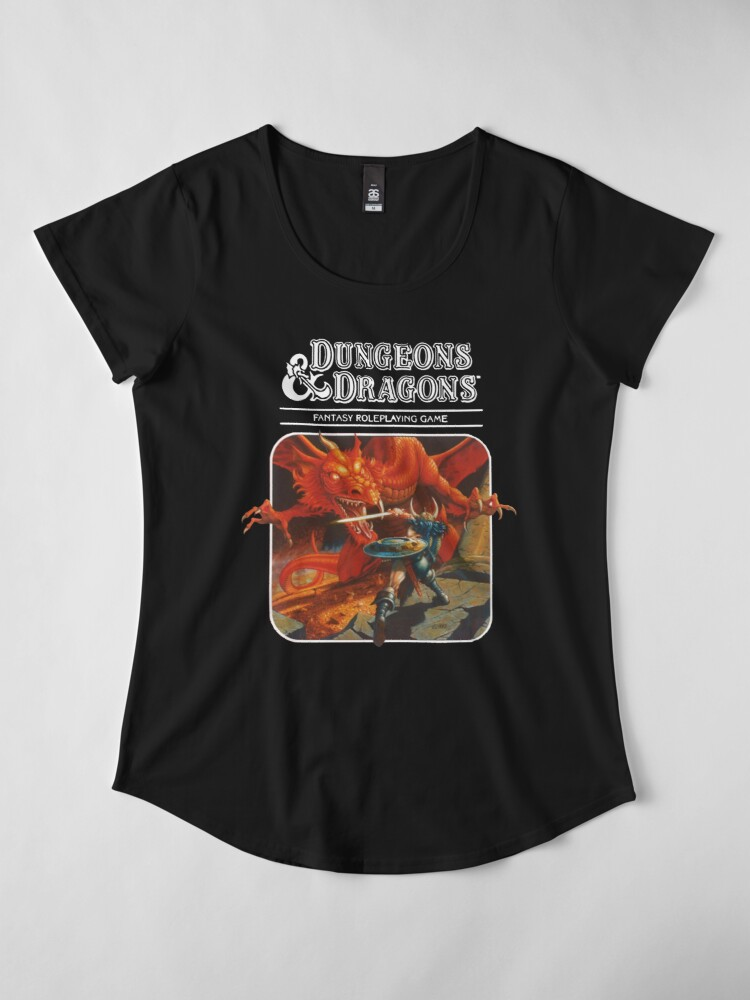Alternate view of Dungeons & Dragons Premium Scoop T-Shirt