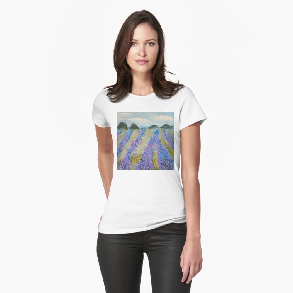 Fields of Lavender Women's T-Shirt Front