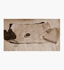Battle Map Photographic Print