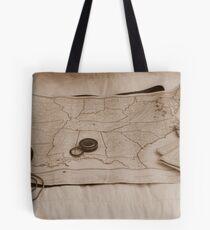 Battle Map Tote Bag