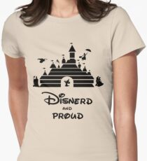 Disnerd and Proud Women's Fitted T-Shirt