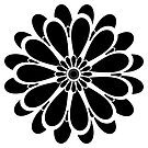 Black Flower Design by plantita