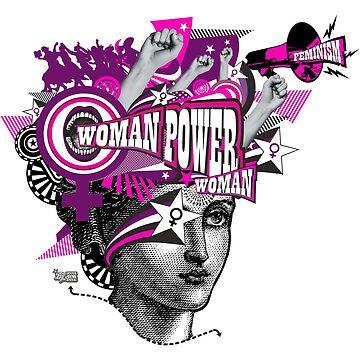 THE FEMINIST POWER - EL PODER FEMINISTA by annaOMline
