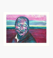 the physical  Dalai Lama  Art Print