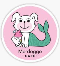 Merdoggo Cafe Sticker