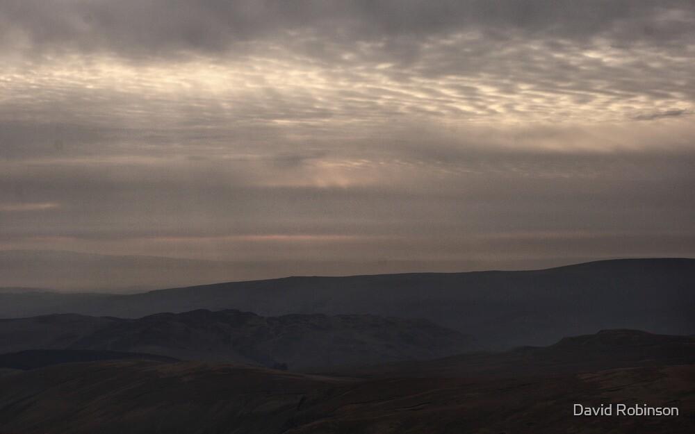Hazy morning by David Robinson