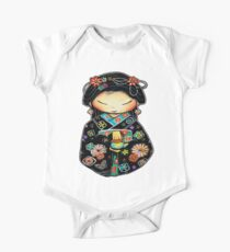 Little Multicolour Teapot One Piece - Short Sleeve