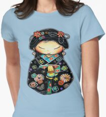 Little Multicolour Teapot Women's Fitted T-Shirt