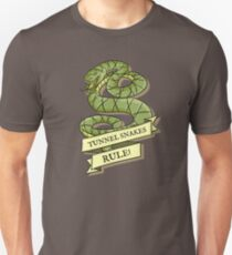 Tunnel Snakes Rule! Slim Fit T-Shirt