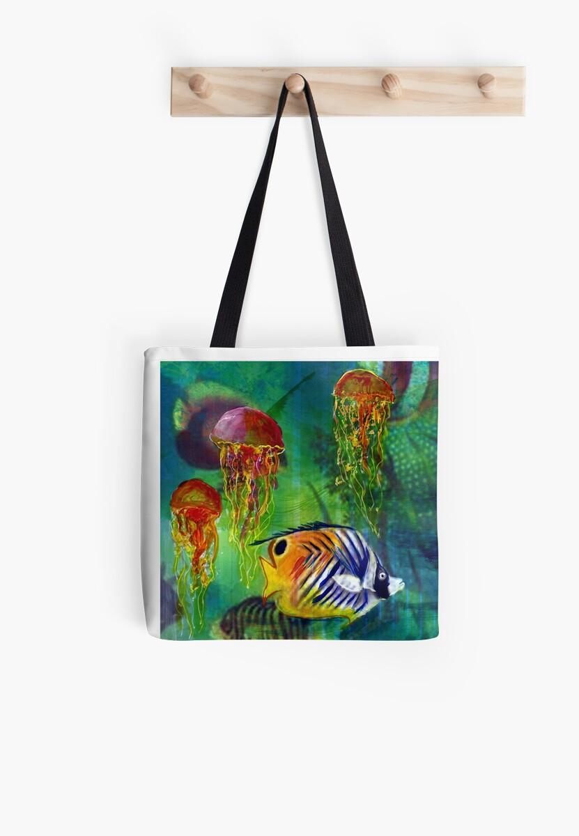Reta's Fish and Jelly Fish by Reta Ross