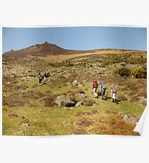 Comeragh mountains Poster