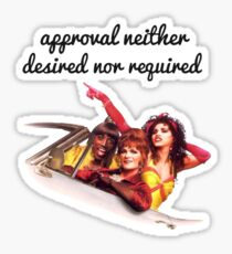 Approval not required Sticker