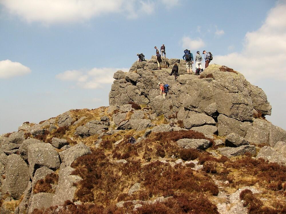Climbing in The Comeraghs by John Quinn