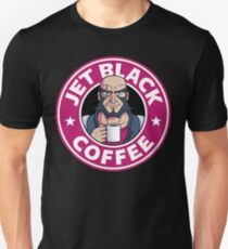 Jet Black Coffee Slim Fit T-Shirt