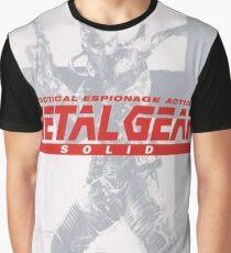 Metal Gear Solid  Grafik T-Shirt