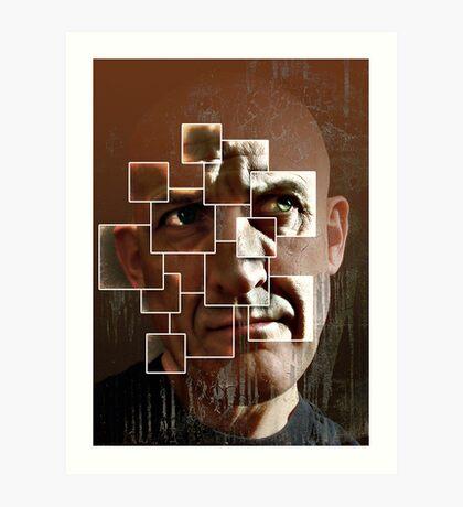 fear lies within the frame Art Print