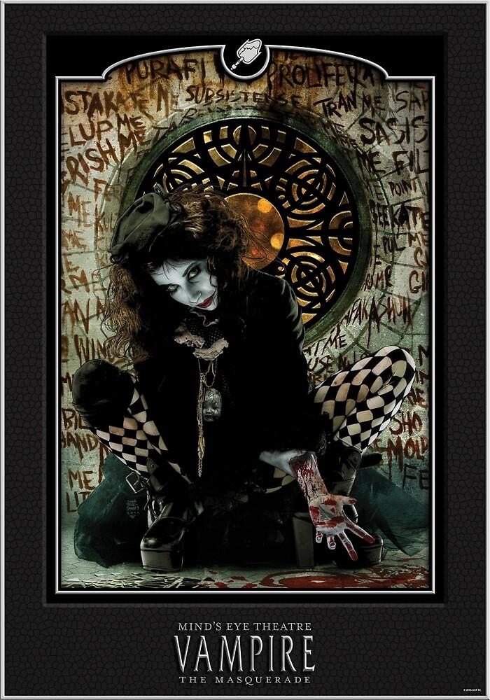 Malkavian - Black by bynightstudios