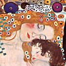 """Cropped Klimt's """"The three ages of a woman"""" by NemesisGear"""