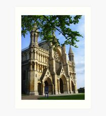 St Albans Abbey ~ Hertfordshire 2007 Art Print