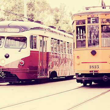 San Francisco Street Cars by CityMystic