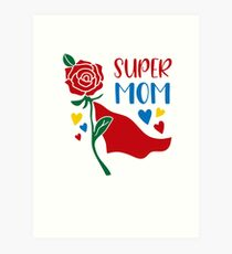 Best Mothers day Tshirts Art Print