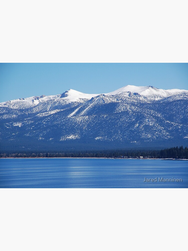 Blue Lake, Blue Sky by JaredManninen