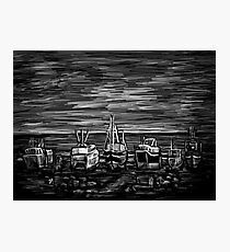 Fishing Fleet Photographic Print