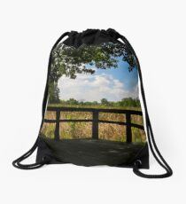 Sheldon Marsh Scenic Overlook Drawstring Bag