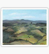Montecastello view #1 Sticker
