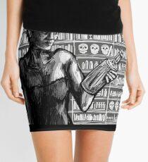 Bottle Mini Skirt