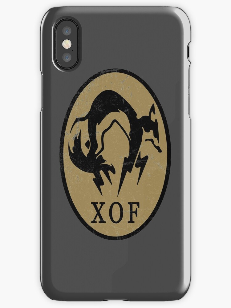 MGS - XOF Logo by steviecomyn