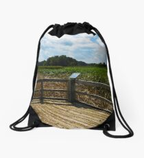 Sheldon Marsh Scenic Overlook 2 Drawstring Bag