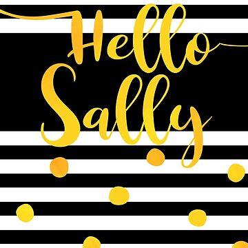 Hallo Sally - personalisiertes Vorname-Design von xsylx